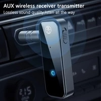 Recepteur-transmetteur Bluetooth 5 0 2 en 1 Jack 3 5mm  adaptateur multifonction sans fil pour musique  Assistance a domicile