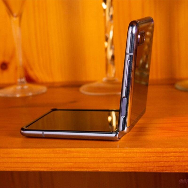 Фото2 - Оригинальный Samsung Galaxy Z Flip F7000 【 100% новый разблокированный складной экран с двумя Sim-картами 6,7 дюйма 8 ГБ ОЗУ 256 Гб ПЗУ NFC Snapdragon