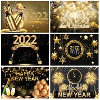 merry christmas 2022 happy new year background golden dots photography backdrop glitter photo shoot photophone photozone poster