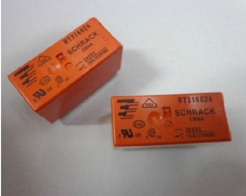 شحن مجاني | RT314024 24VDC 8/16A // 250V | 10 قطعة