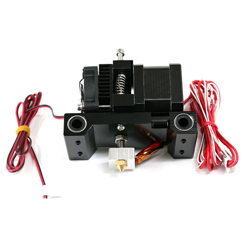 Extrusora A6, cabezal de impresora 3D, Mk8, Extrusor de boquilla de punta en J simple, 1,75/m Abs, boquilla Extra Pla, 42 pasos, pieza de Motor