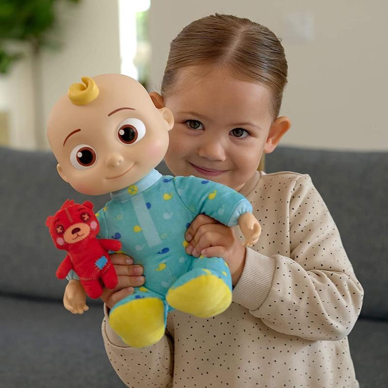 Cocomelon плюшевые мягкие игрушки Аниме плюшевые куклы музыкальная детская игрушка из мультфильма мягкие Sonic зубная щётка куклы для девочек, иг...