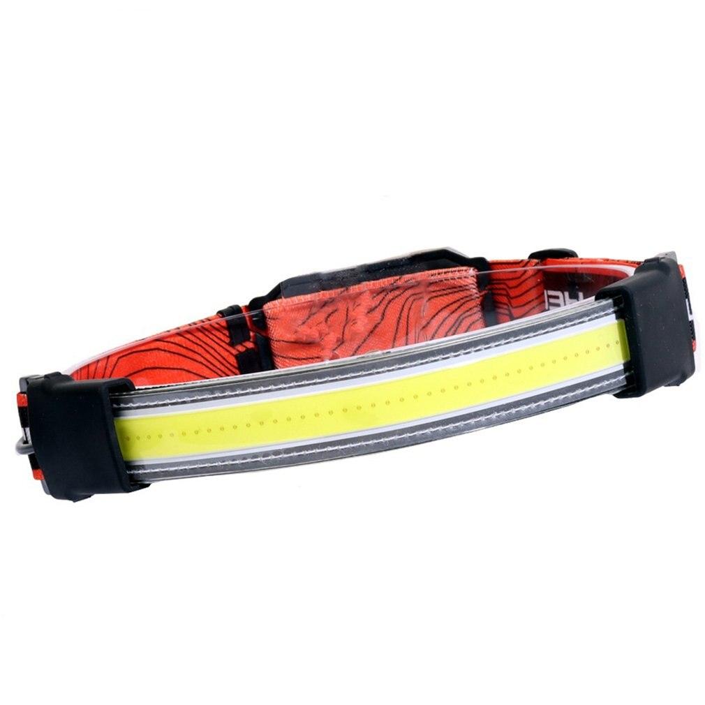 Легкий светодиодный налобный фонарь, перезаряжаемый налобный фонарь COB с широким углом освещения, 3 режима, фонарь для кемпинга, подходит дл... налобный фонарь navigator npt h17 светодиодный 1 cob led 3 вт 10 м