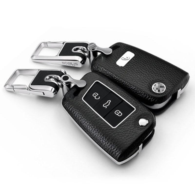 LLavero de llave de coche Boutique para Volkswagen Tiguan L/ Touran/ Lamando/ Golf 6/ Sportsvan