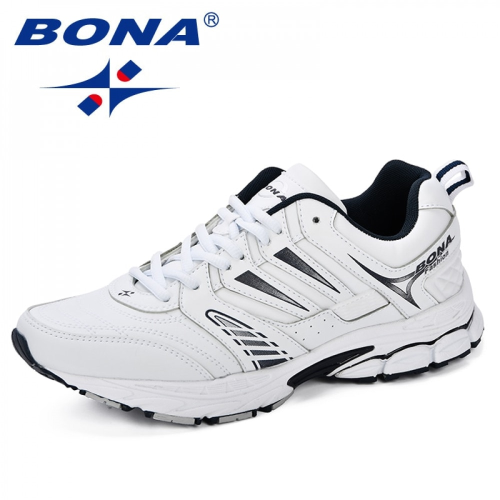BONA  New Design Style Men Shoes Breathable Popular Running Outdoor Sneaker Sports Comfortable Free Shipping