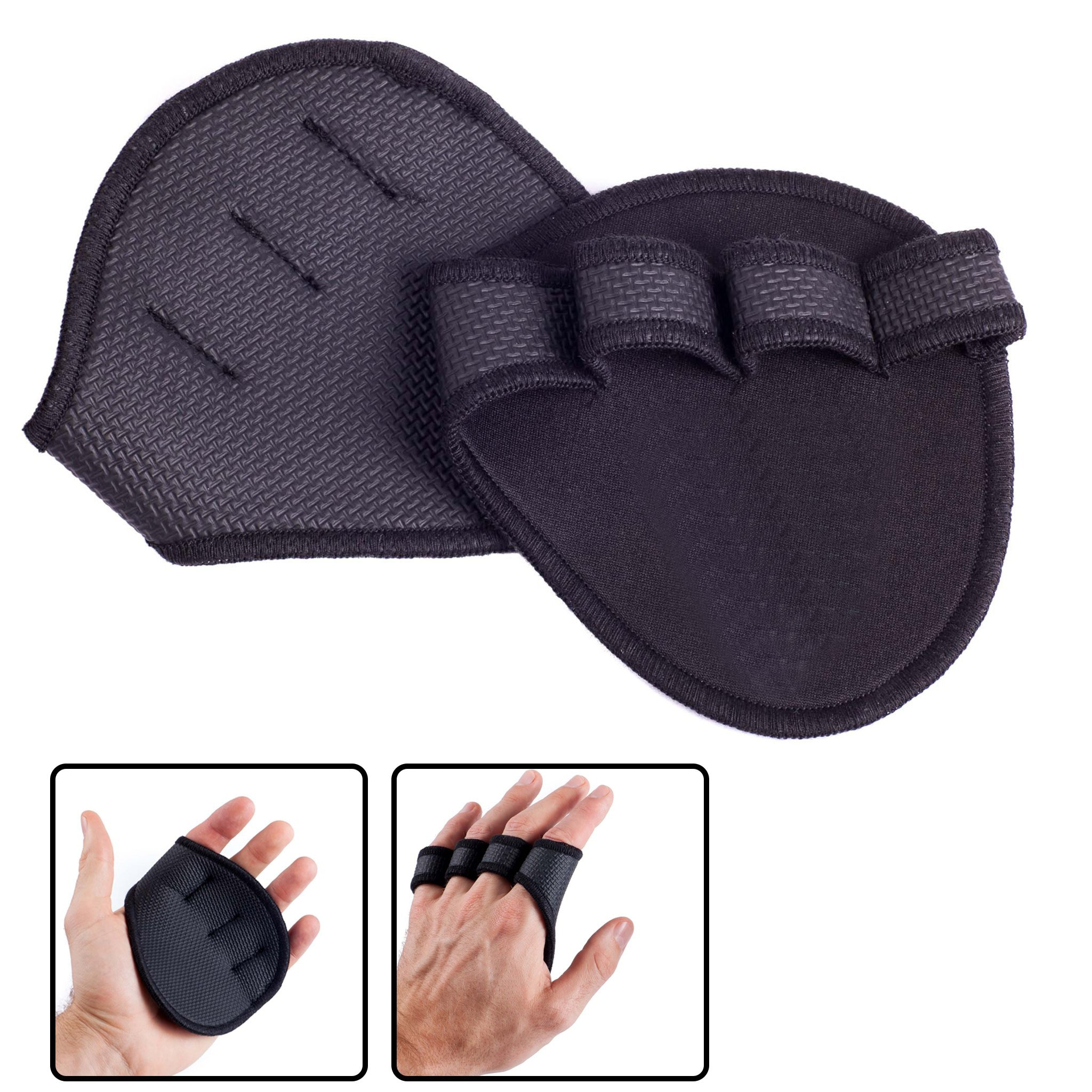 Lifting Palm Dumbbell Grips Pads Unisex Anti Skid Weight Cross Training Gloves Gym Workout Fitness Sports For Hand Protector anti skid sports half finger care palms fitness gloves training dumbbell hand protector fitness equipment