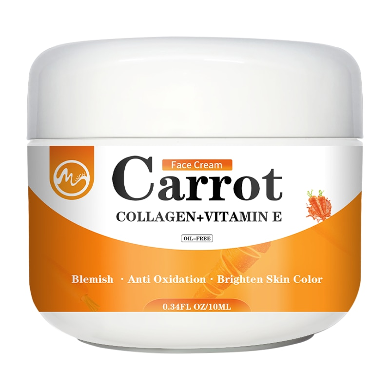 Minch Face Whitening Cream Carrot Face Cream Dark Spot Corrector Brighten Blemish Freckle Remover Na