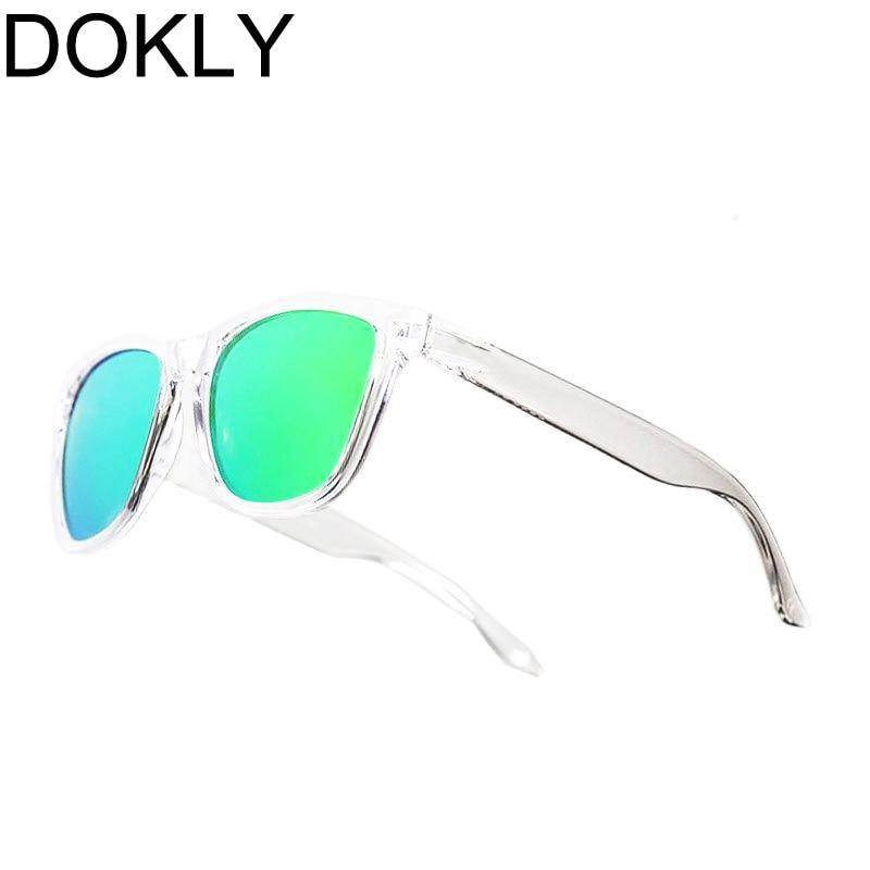 DOKLY-Gafas De Sol con montura transparente para mujer, lentes De Sol con...