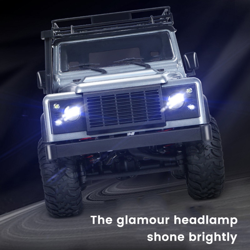 Nemocargo Remote Control Off-Road Vehicle Simulation Land Rover Defender With Light Super Bearing Capacity Distortion Car enlarge