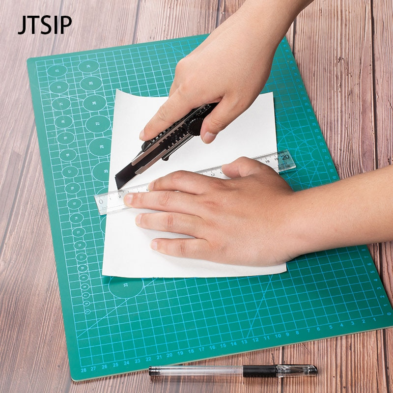 JTSIP Cutting Mat A3 Cutting Board Pad Engraving Tool Double sided Self Healing Cut pads White Core Carving Pad Paper Cutter Mat