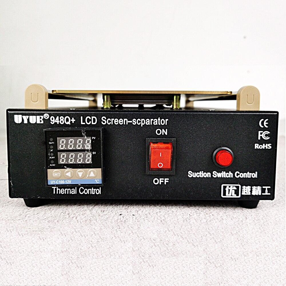 المدمج في مضخة تفريغ شاشة تعمل باللمس إصلاح تجديد 11 بوصة زجاج LCD فاصل عدة