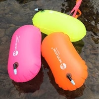 summer outdoor swimming float bag multifunction drift waterproof pvc lifebelt water sports inflatable signal drift bag life buoy