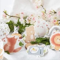 20packs cute animal series sticky note student message sticker n times memo pad scrapbooking school label stationery