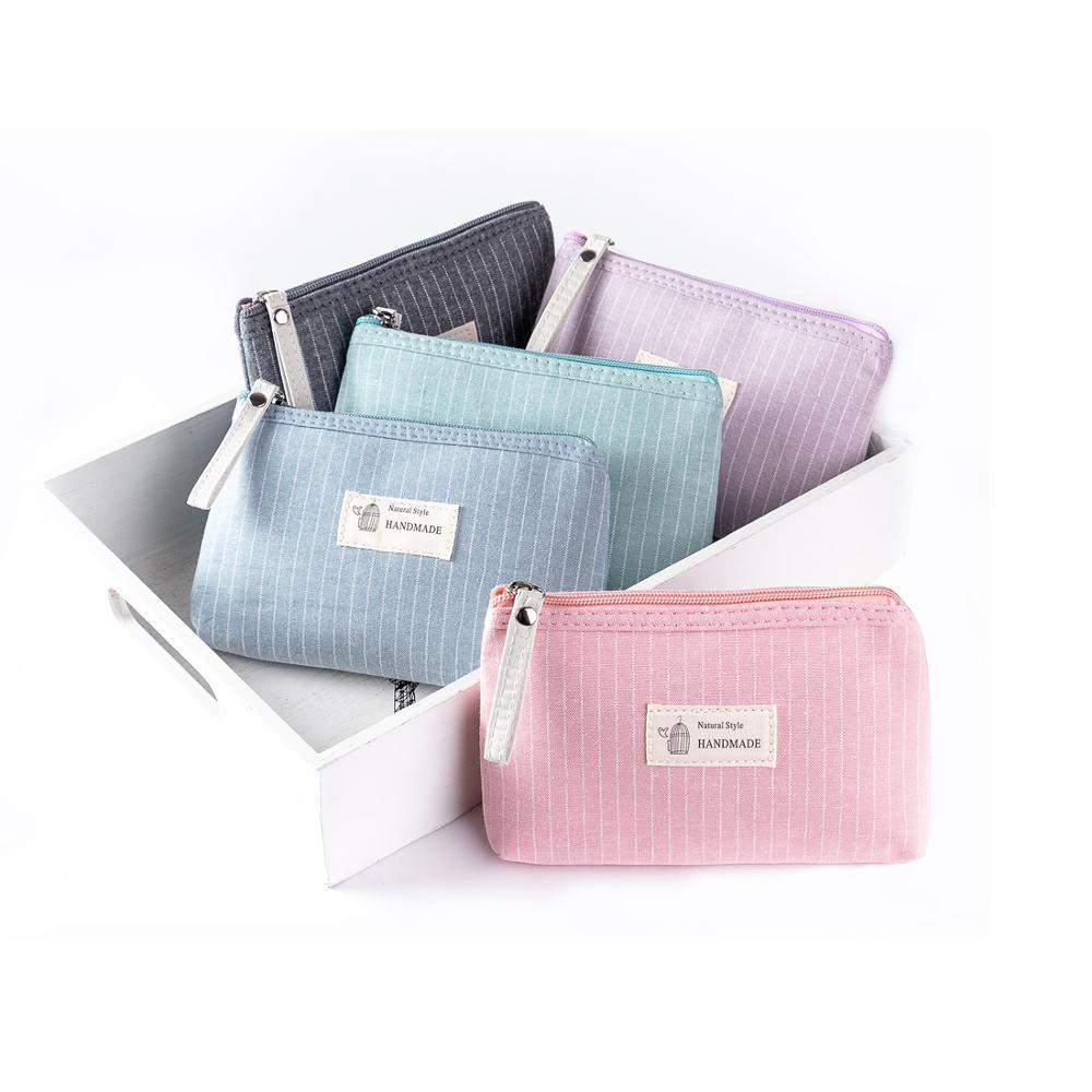 Bolso pequeño de maquillaje Miyahouse Dailu para mujer, bolso cosmético con cremallera, bolso cosmético de Color para mujer, bolso cosmético bonito