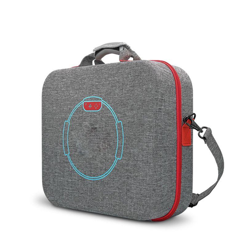 2020 novo estojo de transporte saco de armazenamento eva duro para ns switch console anel-con fitness anel
