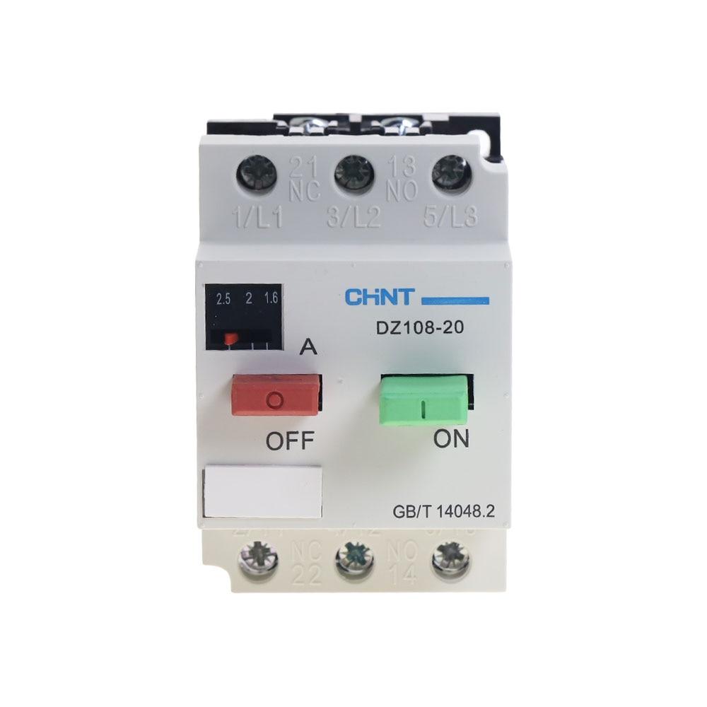 CHNT DZ108-20/211 8A (5-8A) защита двигателя выключатель 3VE1