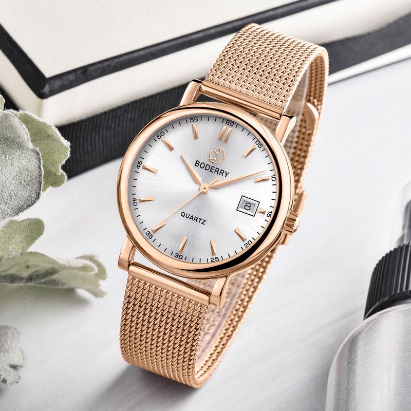 Women Watch Top Brand Luxury Gold Swiss Quartz Movement Stainless Steel Fashion Ladies Watches Female Clocks Reloj Mujer 36mm enlarge