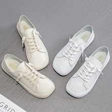 Women Casual Sneakers Bonded leather White Sneakers,Breathable Sneakers,Comfort Shoes,Women's Vulcan