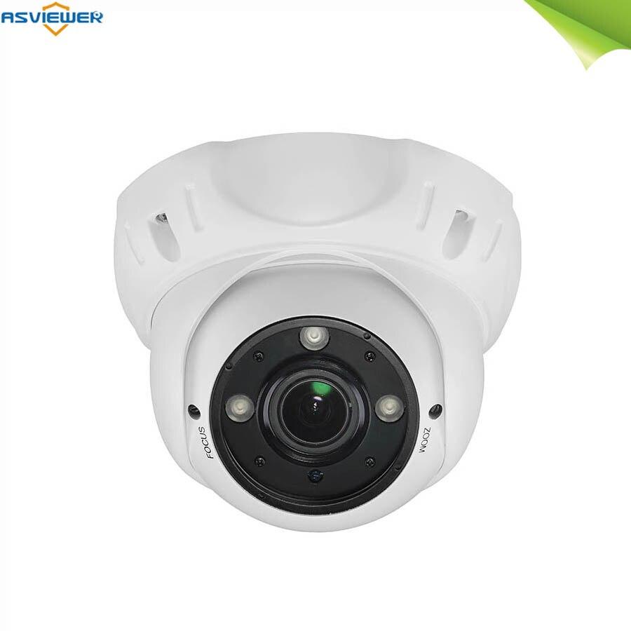 Cámara SONY IMX327 1080P Full HD 4 en 1 1920*1080 2,7 ~ 13,5mm motorizada vari-focal lente enfoque automático AS-MHD2303RHAF de cámara analógica