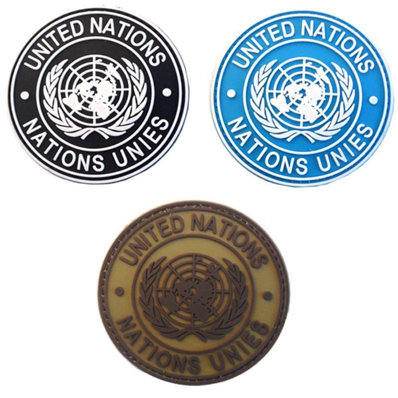 Fashion Badge Of International U.N UN United Nations Genuine Armbands Shoulder For Most Military Kit And Apparel Badg