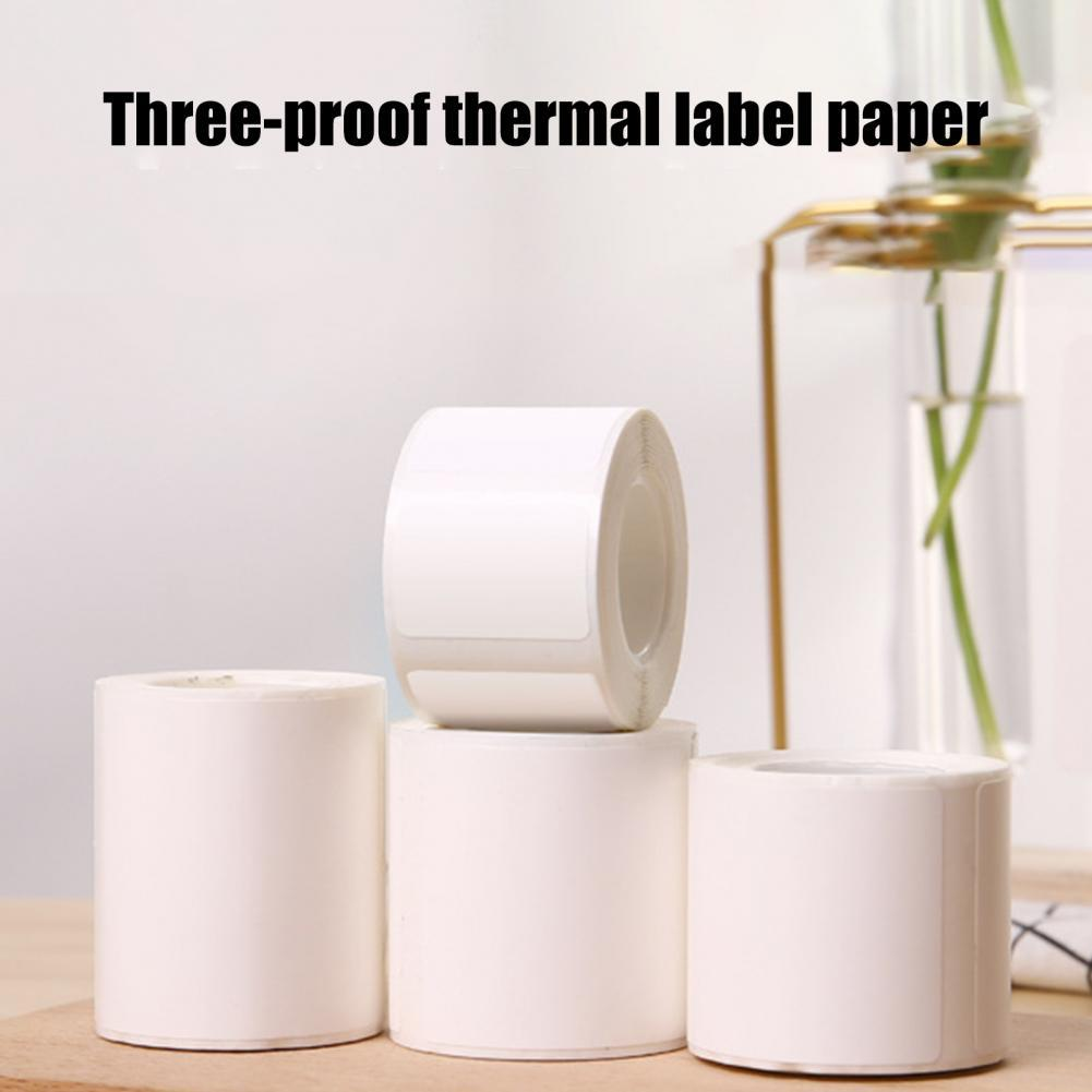 B21/B3S Tab Paper Waterproof Wear-resistant PVC High Definition Thermal Sticker for Supermarket