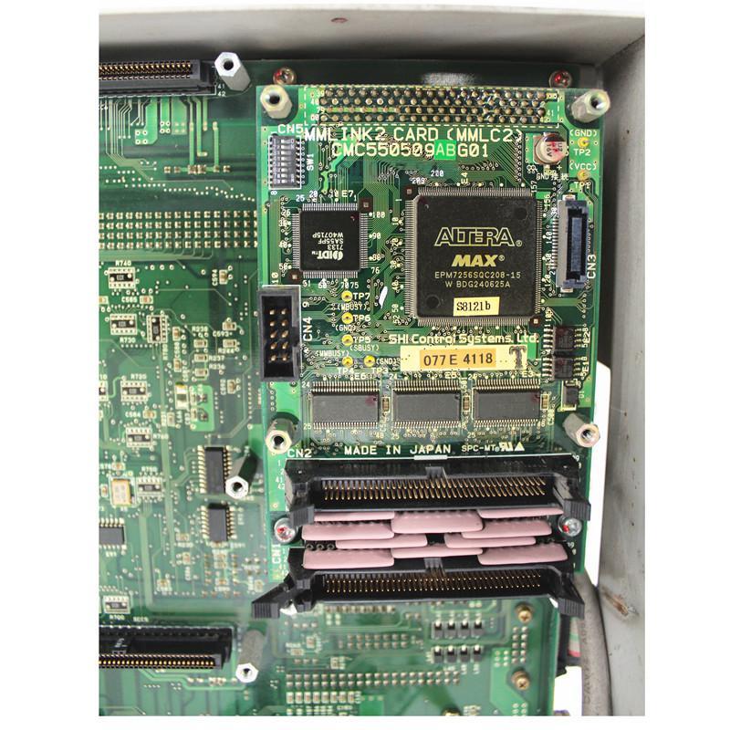 لوحة رئيسية CMC550509ABG01 MC-550 MCU UMC550000AFG01 مستعملة بحالة جيدة