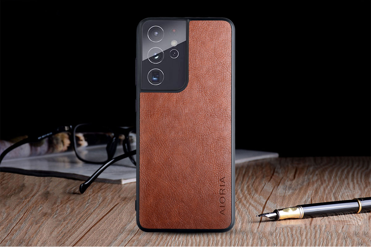 Galaxy S21 Ultra Leather Case 8