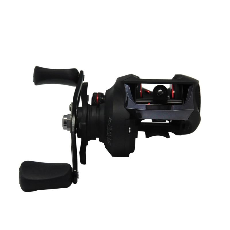 6.3:1 Baitcast Fishing Reel 13 Bearing Large Line Capacity Lightweight Left-handed Right-handed Bait Casting Fishing Wheel