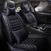zrcgl universal leather car seat covers for honda all models civic accord fit crz crv urv odyssey city gienia jade elysion ciim