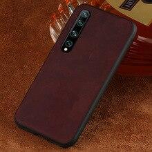 Luxury Business leather case For xiaomi mi 10 pro 5g 9lite 9SE 9 T back cover Case For Redmi k20 pro K30 note 8T 7A A2 lite