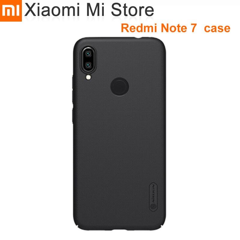 Funda esmerilada para Xiaomi Redmi Note 7 funda de teléfono Nillkin Super Frosted Shield mate funda dura trasera de PC para redmi Note7 Pro
