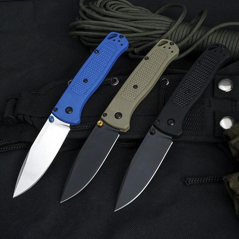 Складные ножи BM535 с алюминиевой ручкой Mark S30V, карманные ножи для выживания с лезвием, многофункциональный инструмент для повседневного испо...