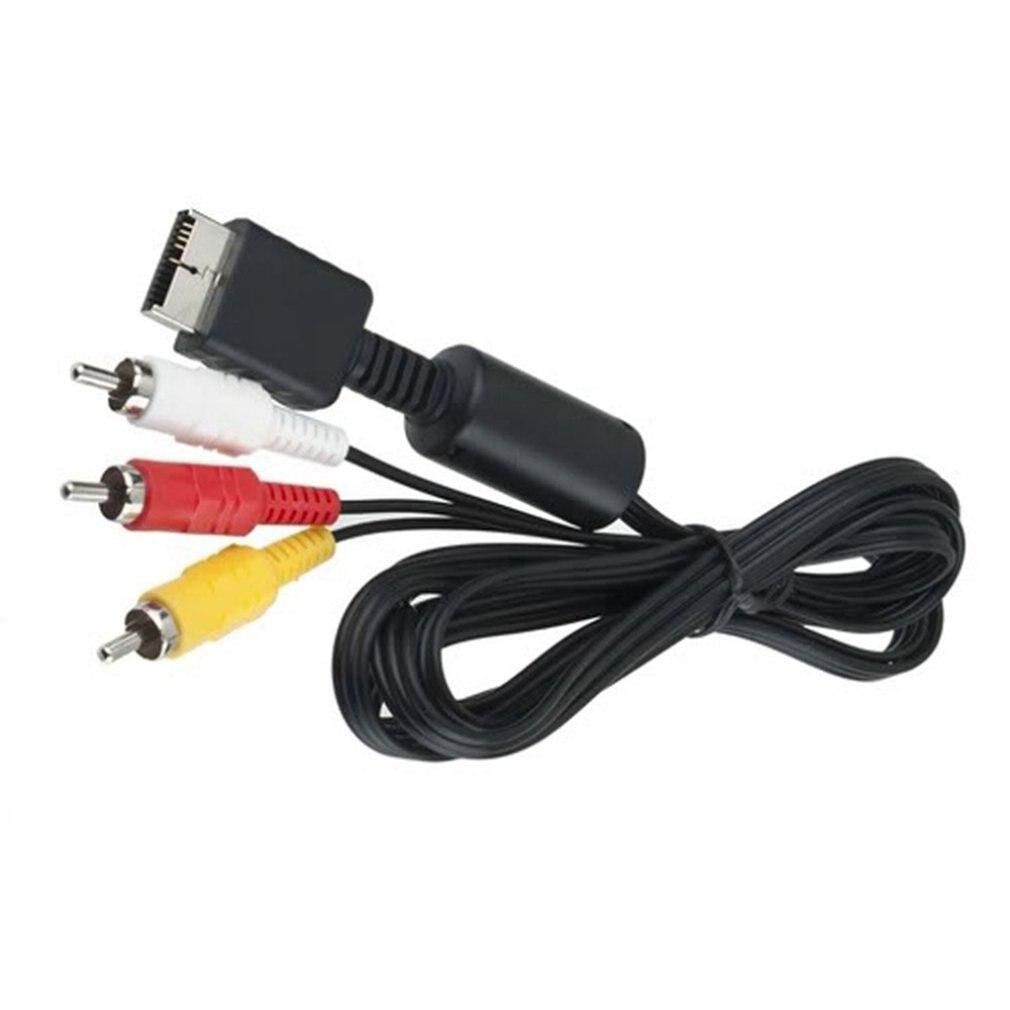 Композитный S-видео RCa aV 2 в 1 Аудио Видео шнур провод S-видео aV кабель для PS2 для PS3 для консоли Playstation 2 3