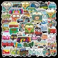 1050pcs waterproof cartoon hip hop minibus stickers laptop guitar graffiti aesthetics luggage phone sticker decals children toy