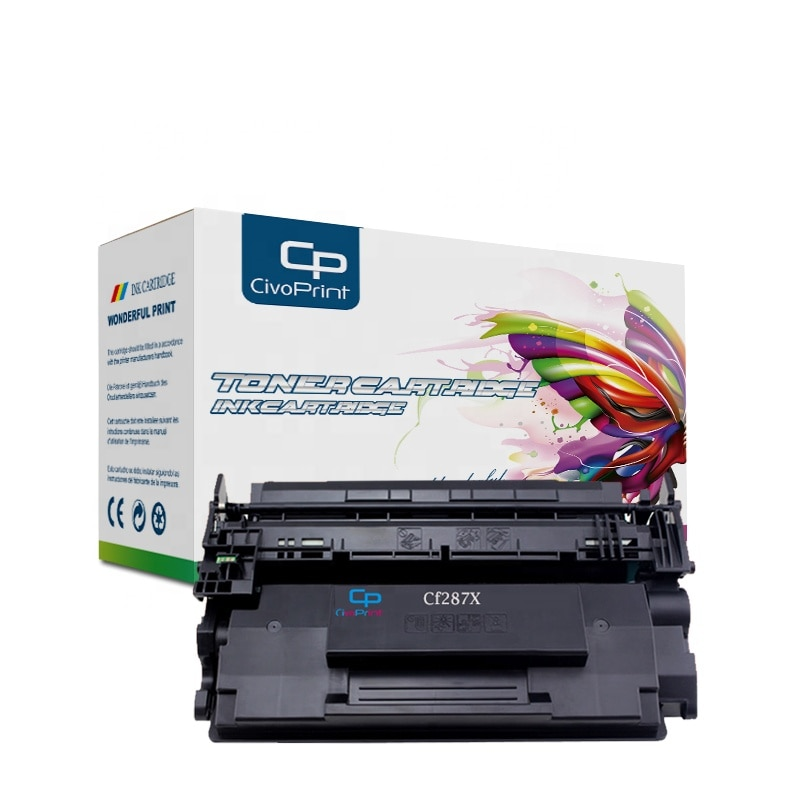 Civoprint Cf287A 87a Cf287 Black Toner Cartridge Compatible for HP Laserjet M527C M527Z M506Dn M506N M506X M527Dn M527F