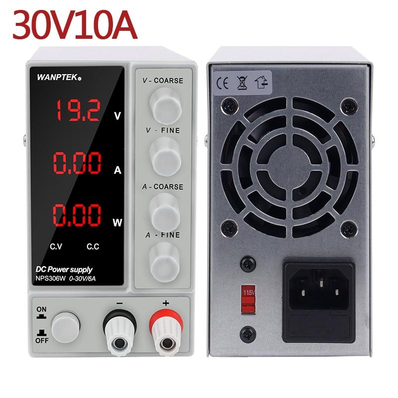 Switching Laboratory Power Supply 30V 10A 120V 3A 60V 5A Current Voltage Regulator Lab Power Supply Adjustable Bench Source