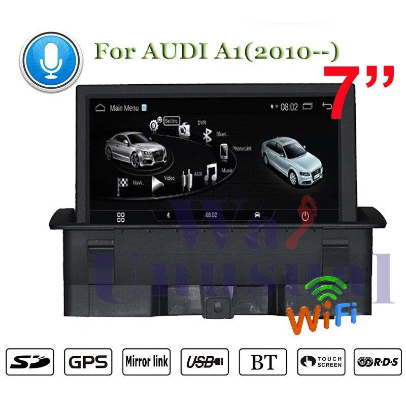 Sistema de navegación inteligente para coche Audi A1 2010-2018 años reproductor Multimedia para coche