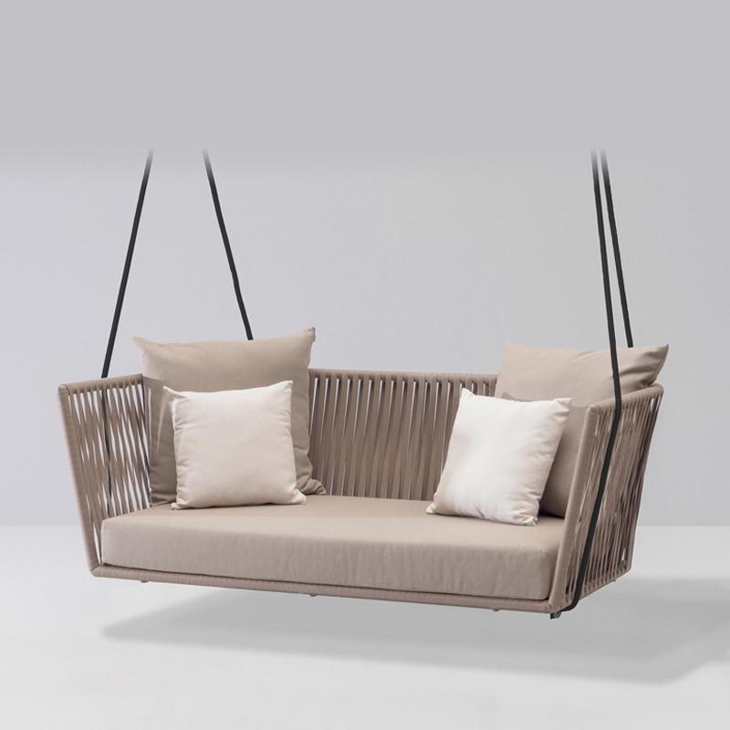 JOYLIVE новый PE плетеное подвесное кресло качели для дома и улицы взрослых кресло-качалка диван Nordic балкон качели инструменты для завивки воло...