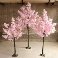 Artificial Cherry TreeSimulation Plant Fake Flower Tree Living Room Hotel Wedding Wedding Decoration Home Furnishing Cherry Tree