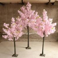 Arbre de cerisier artificiel  fausse fleur  decoration pour salon  hotel  mariage  ameublement de la maison