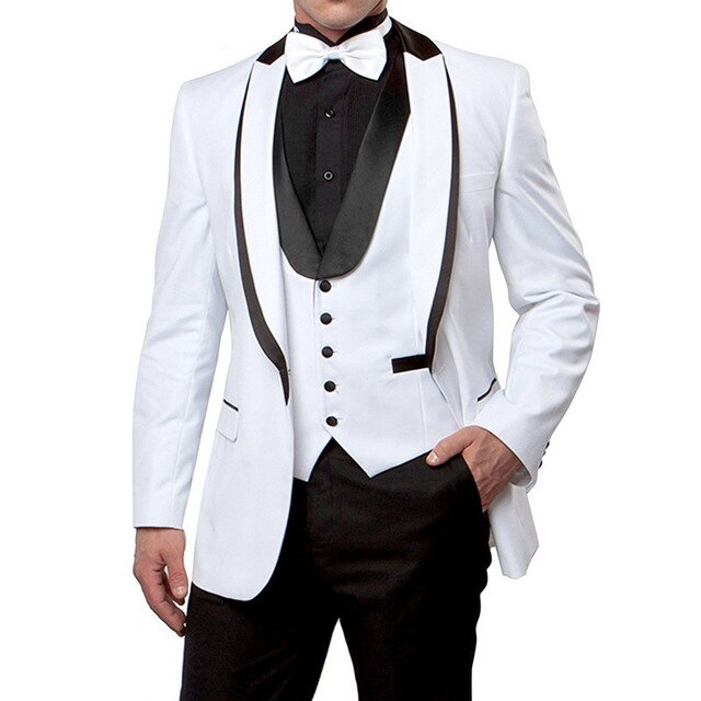 بدلة زفاف رسمية للرجال ، جاكيت رفيع مخصص ، شال ، طية صدر السترة ، أزرق ملكي ، بدلة رسمية للعريس ، (بليزر + سروال + قميص داخلي + عنق)