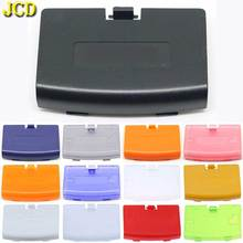 Замена крышки батарейного отсека JCD 10 шт./лот для задней крышки корпуса GBA для Nintendo Gameboy Advance