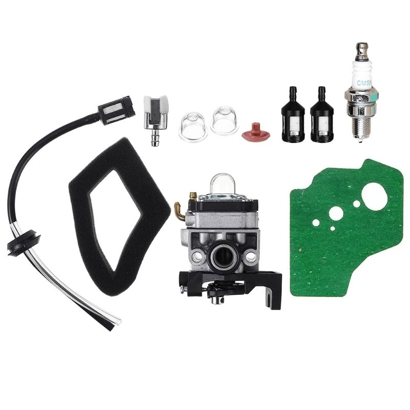 Carburador carburador Junta bujía de combustible tubo flexible Kit para Honda GX25 GX35 HHT35