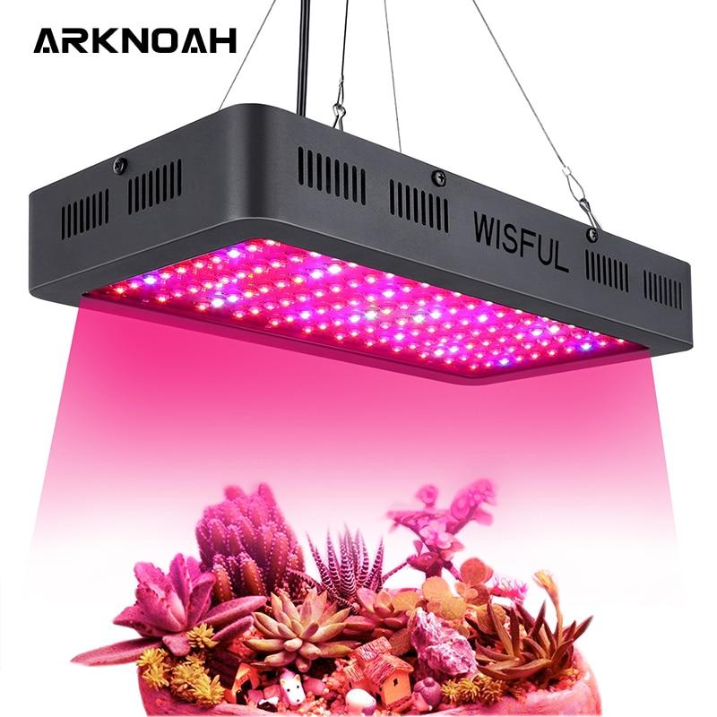 ARKNOAH светодиодный светильник для выращивания, полный спектр, 1200 Вт, двойные чипы, для комнатных растений, светильник для выращивания растени...