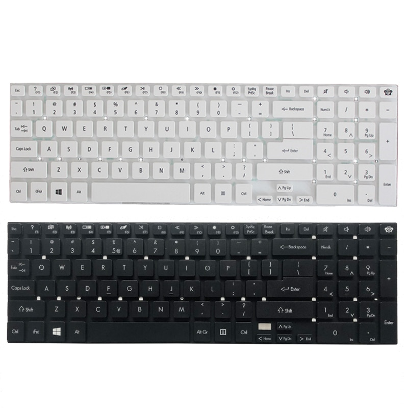 Английская клавиатура для ноутбука Packard bell easynote P7YS0 P5WS0 TS13SB TS44HR TS44SB TSX66HR TSX62HR tv11см Q5WS1 US
