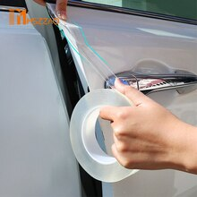 3m Car Stickers Car Door Sill Protector Multifunction Nano Sticker Tape Auto Bumper Strip Car Door Protect Scratchproof