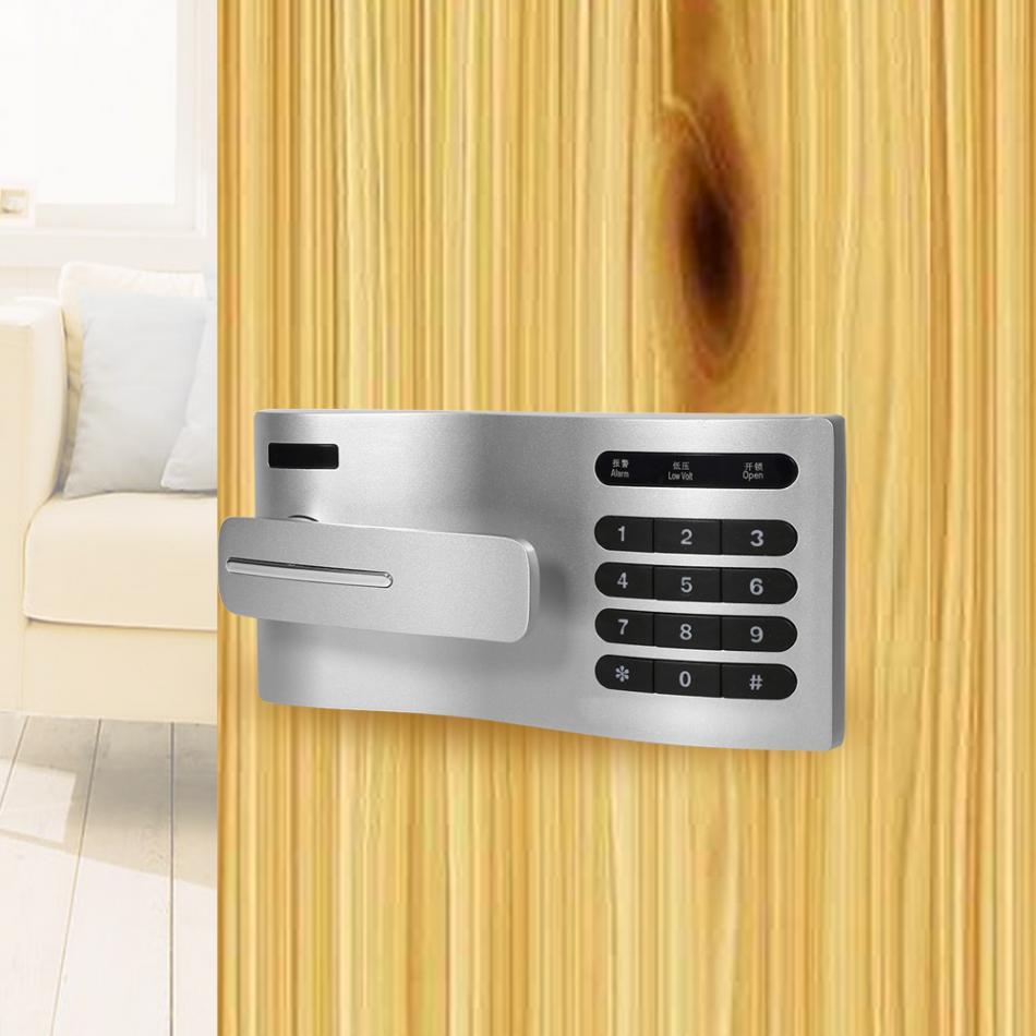 Contraseña del teclado táctil, cerradura de puerta de acceso, cerradura de inducción electrónica Digital, cerradura codificada para armario