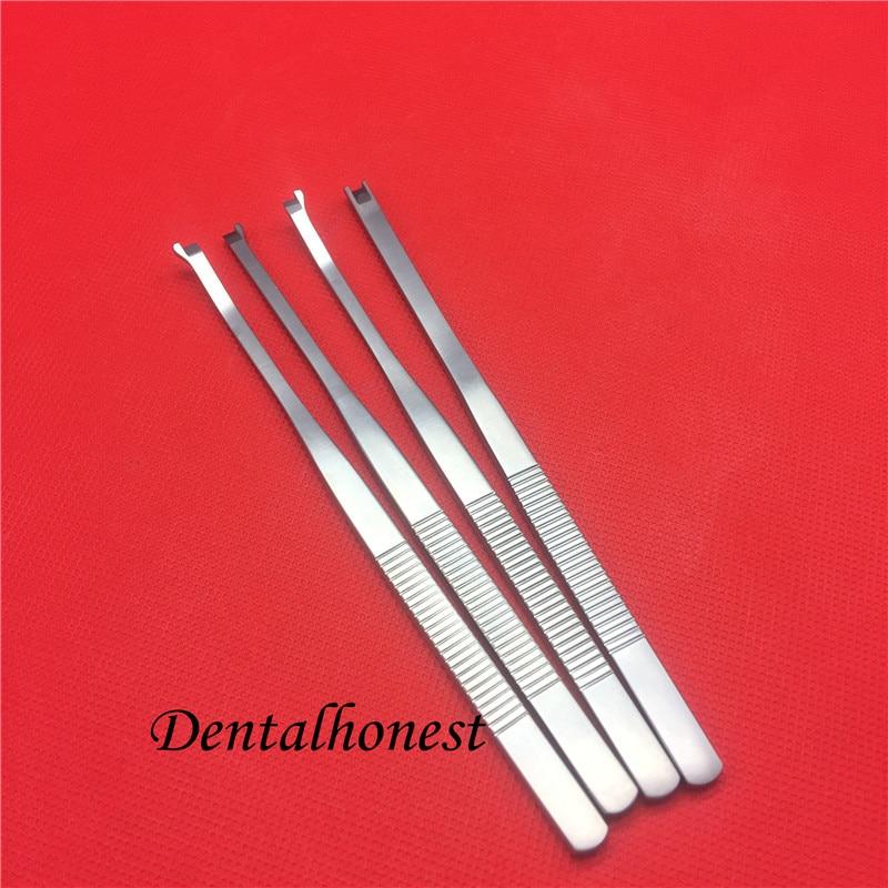 Pá de aço inoxidável de alta Qualidade-tipo alça redonda nose óssea do osso nasal cinzel rosto cirurgia plástica ferramentas pálpebra dupla