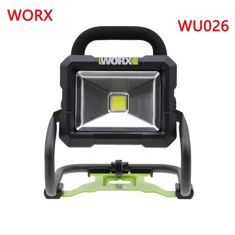 Casa ao ar Worx Iluminador Multifuncional Livre Portátil Led Luz Wu026