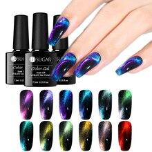 UR sucre 9D caméléon chat oeil Gel à ongles vernis Gel magnétique vernis longue durée couleur or tremper hors UV Nail Art Gel plus récent